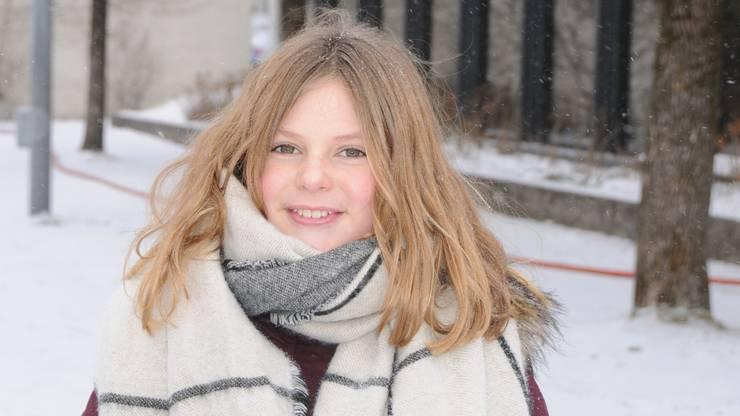 «Mir ist im Winter wohler, weil ich an Neurodermitis leide. Diese Krankheit bricht vor allem dann aus, wenn es warm ist. Auf dem Eisfeld glänze ich mit der Pirouette.»