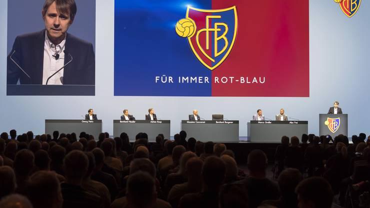 Frauen und Fans aus allen Sektoren: Der künftige FCB-Vorstand, ohne Bernhard Burgener, könnte an der nächsten GV diverser werden. (7.4.2017)