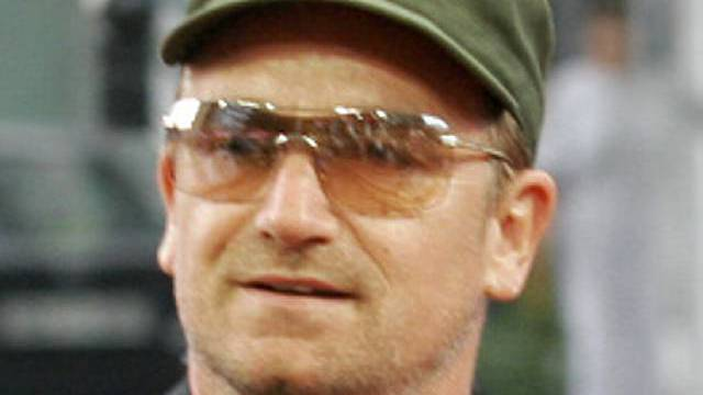 U2-Sänger Bono Vox (Archiv)