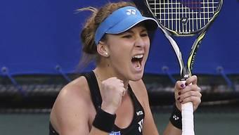 Belinda Bencic gewinnt gegen Top-Ten-Spielerin und ist im Halbfinal