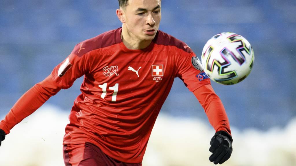 Ruben Vargas steht gegen Litauen in der Schweizer Startformation
