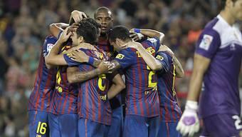 Barça liess Osasuna keine Chance.