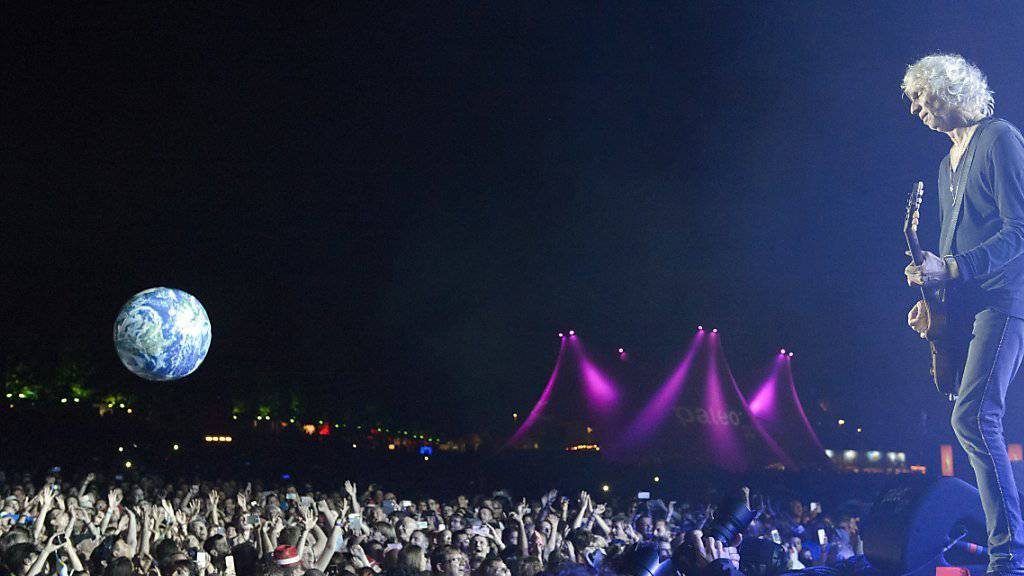 Der Auftritt der Insus - ex Téléphone - gehörte zu den Höhepunkten des 41. Paléo Festivals.