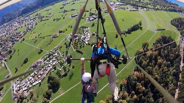 Hängegleiterflug wird für Touristen zum Alptraum