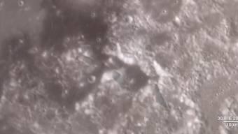 Schön scharf: die neuen Bilder vom Mond in einer nie gesehenen Qualität.