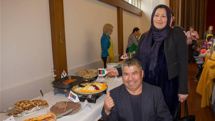 Abdul Khaleq und Masuma Yusefi aus Afghanistan.
