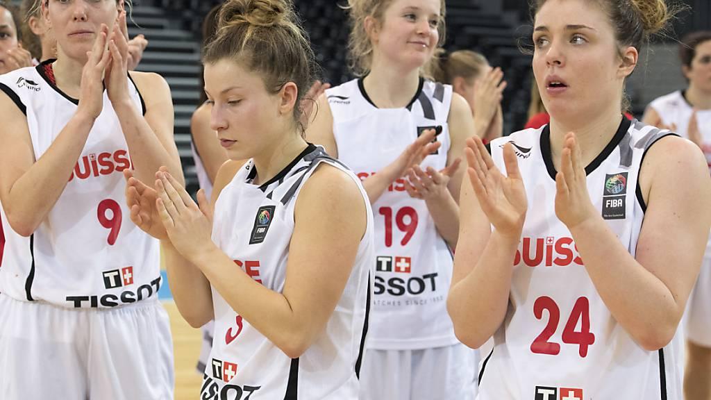 Basketballerinnen in EM-Qualifikation mit Rumpfteam