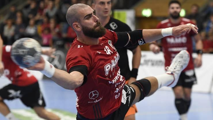 Bizeps-Sehne angerissen: Kreisläufer Martin Slaninka fehlt dem HSC Suhr Aarau gegen den BSV Bern