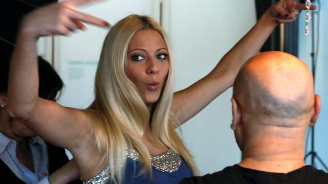 Rührt die Werbetrommel: Ex-Miss Schweiz Christa Rigozzi (Archiv)
