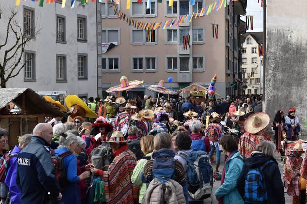 Impressionen von der Narrenrallye Bremgarten 2020