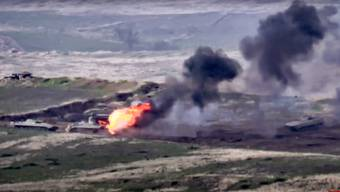 In der Unruheregion Berg-Karabach ist erneut ein Konflikt ausgebrochen.