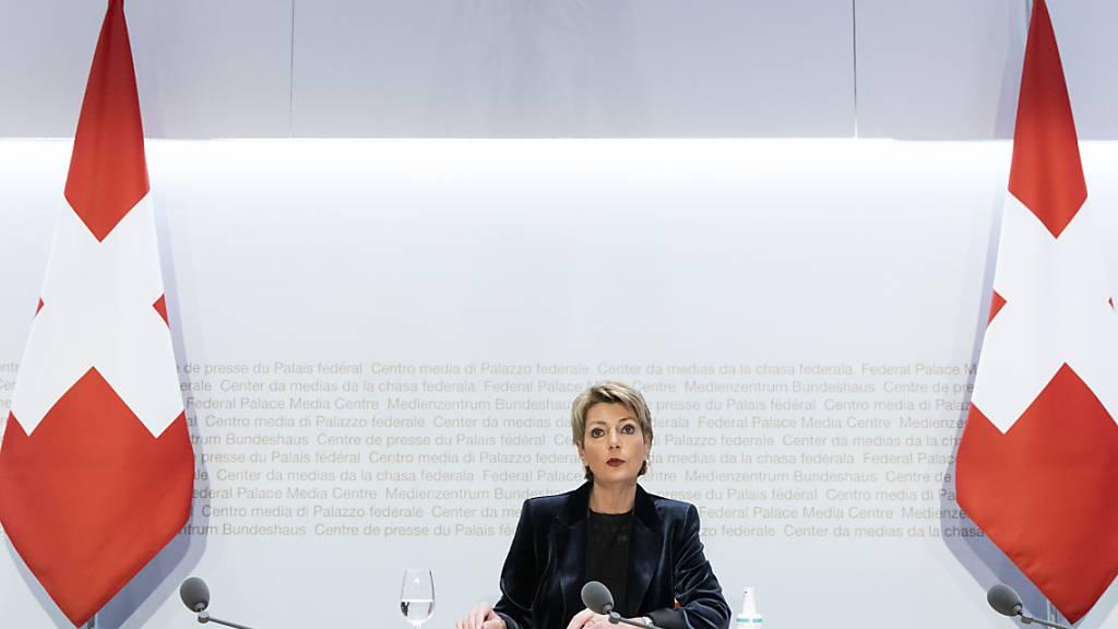 Keller-Sutter: «Initianten stehen nicht mit leeren Händen da»