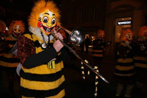 Es folgten die lustigen Honigbienen...