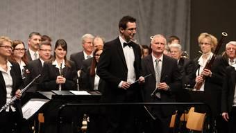 Die Musikgesellschaft Konkordia startete mit einem beeindruckenden Konzert unter der Leitung des Gastdirigenten Daniele Giovannini in ihr Jubiläumsjahr.