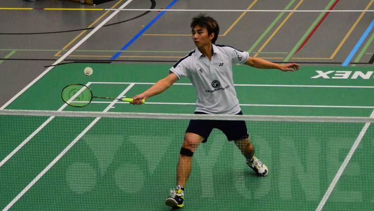 Beryno Wong zeigte gute Leistungen für das Team Argovia.