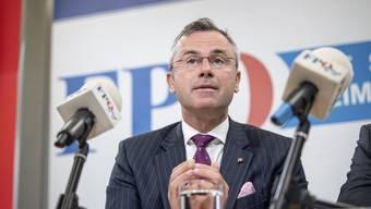 Der 48-jährige Norbert Hofer wurde am Sonntag vom FPÖ-Präsidium als neuer Parteichef designiert.