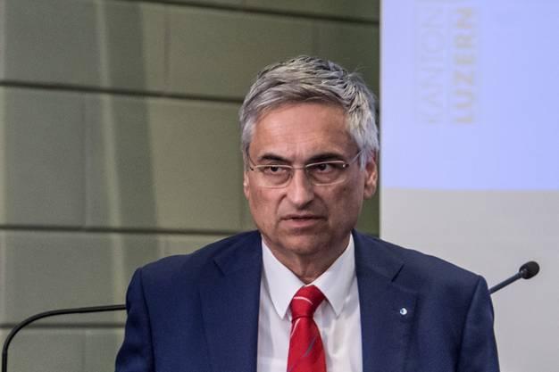 Guido Graf, Gesundheitsdirektor des Kantons Luzern