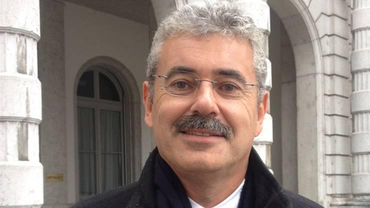 Stefan Suter ist der Kandidat der SVP Basel-Stadt für die Regierungsratswahlen 2020.
