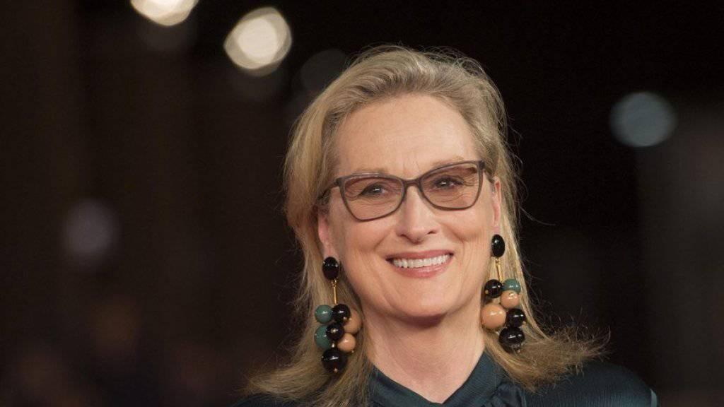 Meryl Streep liest nichts über sich
