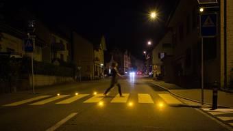 Fussgängerstreifen im Aargau