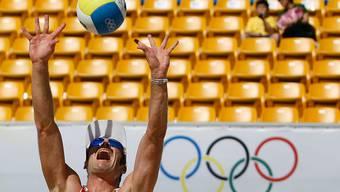 Martin Laciga im olympischen Einsatz in Peking.