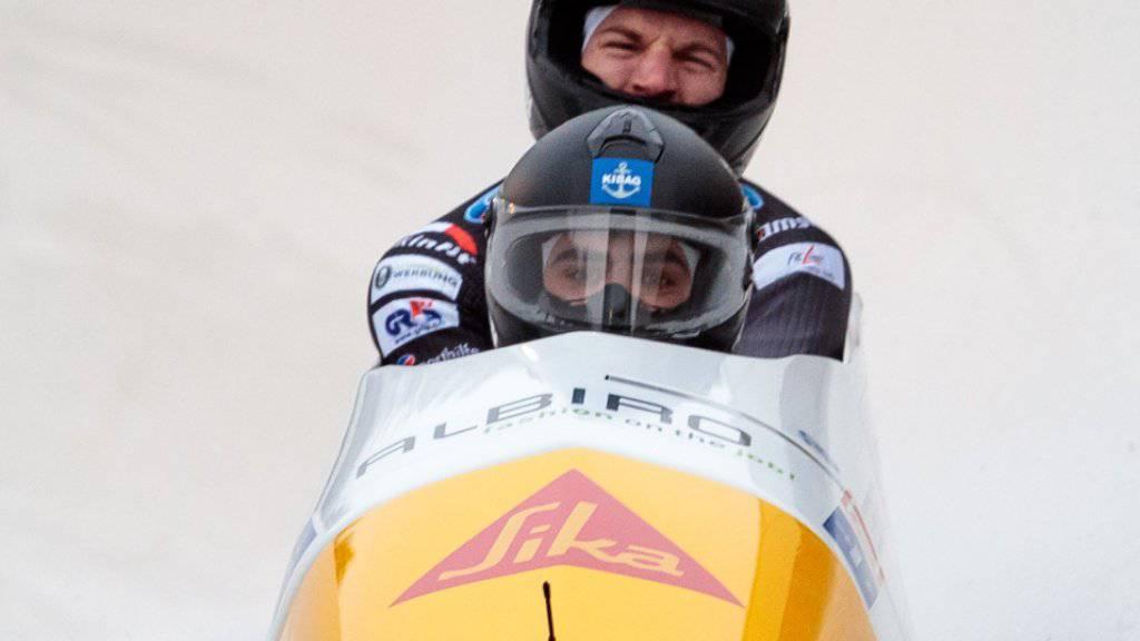 Erster Schweizer Meistertitel: Clemens Bracher und Michael Kuonen