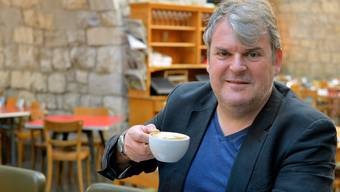Schauspieler Mike Müller in der Zürcher «Markthalle». Er mag weder schlechten Kaffee noch Fertigprodukte.