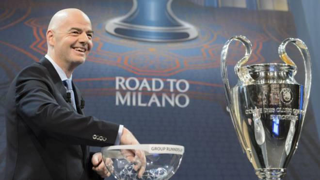 Mischt Uefa-Generalsekretär Gianni Infantino bald auch den Weltfussball auf? Foto: LAURENT GILLIERON/Keystone