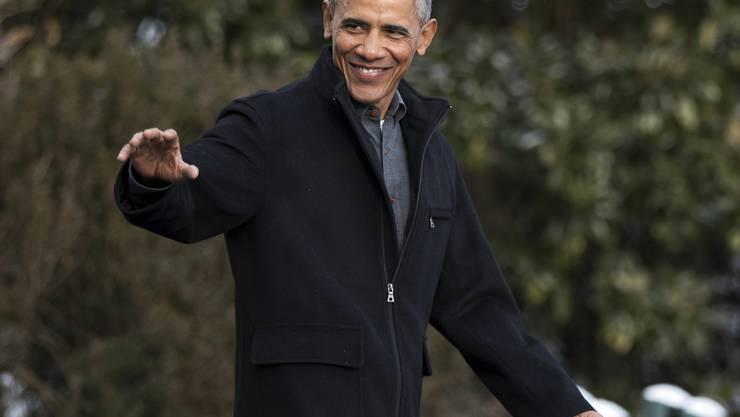 Die Spotify-Playlisten von Barack Obama sind ein Hit: Der abtretende US-Präsident könnte sich gut vorstellen, aus diesem Talent seinen neuen Beruf zu machen. (Archivbild)
