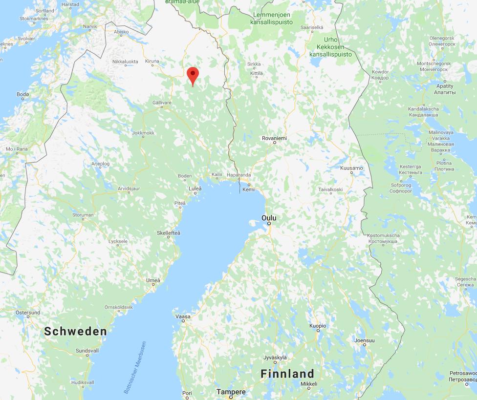 In Masugnsbyn hat sich der tragische Unfall ereignet. (Bild: Screenshot/Google Maps)