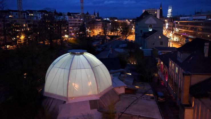 Unter dem Neubau der «Kuppel» sollen acht bis zehn Bandproberäume entstehen. (Archiv)