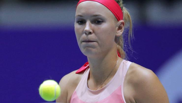 Aufgrund einer Verletzung am Sprunggelenk nicht am French Open in Paris dabei: Caroline Wozniacki