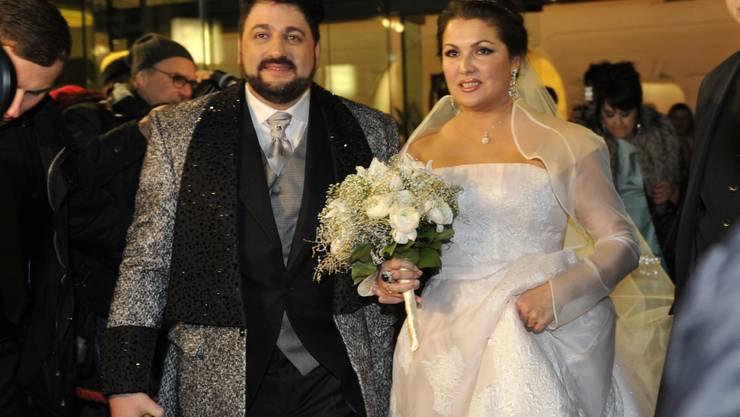 Schon länger ein Paar - und jetzt endliche Hochzeit in Wien: Anna Netrebko und Yusif Eyvazov.