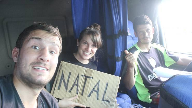 Von Joao Pessoa nach Natal: Die letzten Autostopp-Kilometer in Brasilien legen wir mit LKW-Fahrer Neves zurück