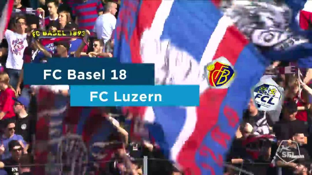Super League, Saison 2019/20, 9.Runde: FC Basel - FC Luzern 3:0