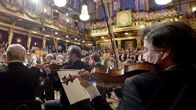 Mitten im Orchester ist es auch bei den Wiener Philharmonikern sehr laut (Archiv)