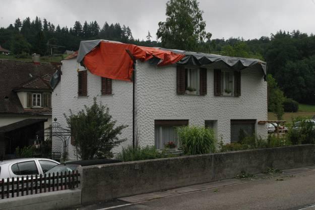 Ein Abgedecktes Haus in Zofingen