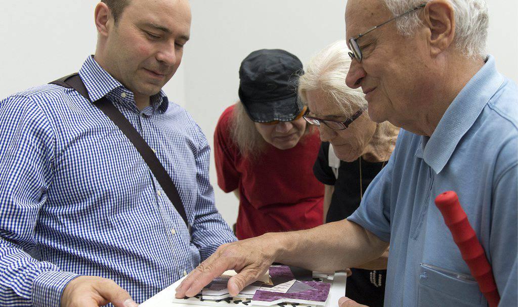 Führung für Blinde im Kunstmuseum Basel