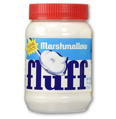 Fluff Durkee-Mower Inc «Der Marshmallow-Brotaufstrich verhöhnt alle Eltern, die ihren Kindern Nutella verbieten. So viel süsse Künstlichkeit muss man erst mal aufs Brot kriegen.» 1380 kJ, 49g Zucker, Stärkesirup (1.50 Fr.)