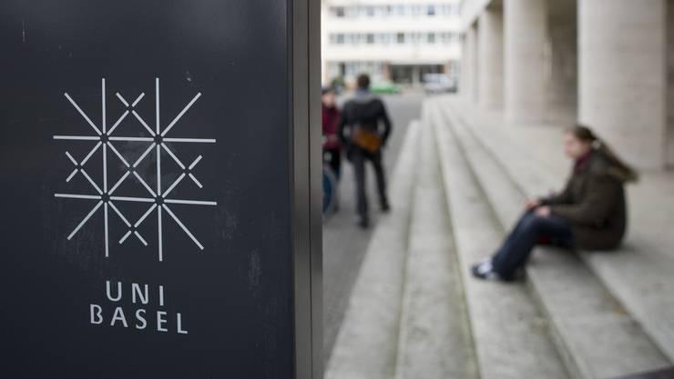 Im Banne des Studentenprotestes: Die Universität Basel.