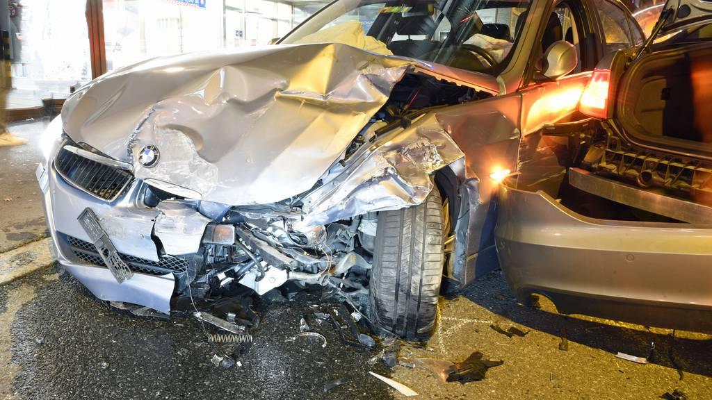 Drei Personen bei Kollision in Luzern verletzt