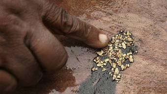 Ein Minenarbeiter hat Gold gefunden (Symbolbild)