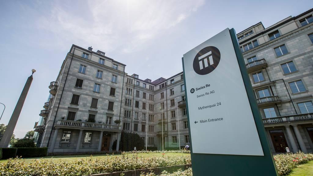 Swiss Re rechnet mit Milliardenverlust im ersten Halbjahr