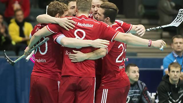 Auf die Schweizer wartet im Halbfinal der WM-Topfavorit Schweden