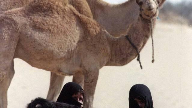 Ägyptische Beduinen auf der Sinai-Halbinsel (Symbolbild)