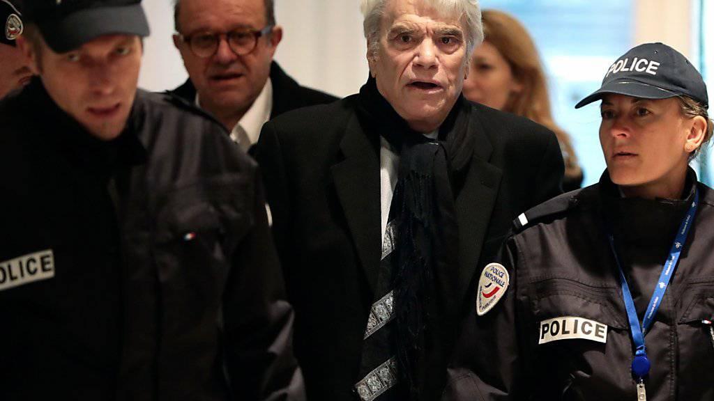 Der französische Geschäftsmann Bernard Tapie ist in der Adida-Affäre freigesprochen worden. (Archiv)
