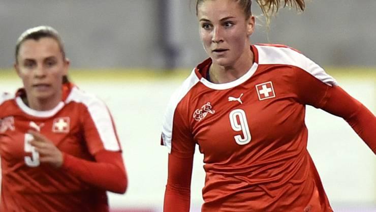 Ana Maria Crnogorcevic erzielte am Algarve Cup den einzigen Schweizer Treffer gegen Schweden