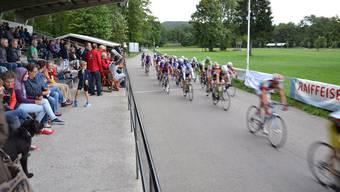 Der Rundkurs im Geissenschachen ist für die Zuschauer überschaubar und bietet ideale Bedingungen für die Radfahrer.