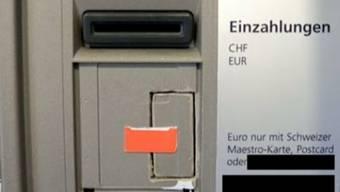 Vier Bankomate wurden mit neuer Skimming-Methode manipuliert