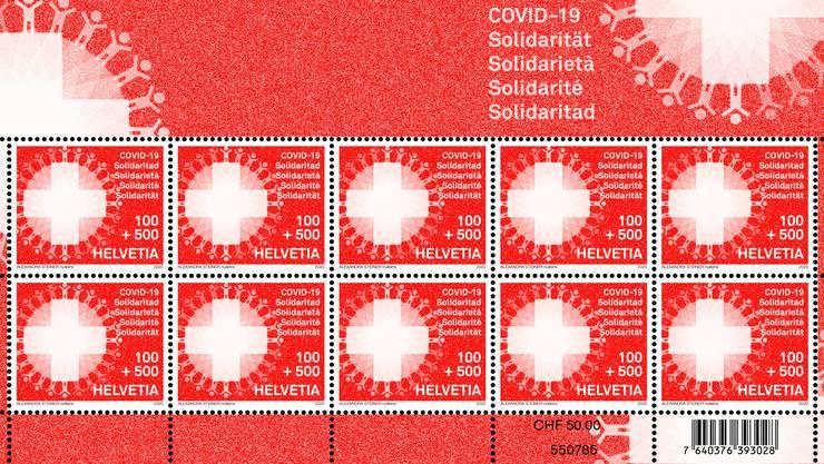 So sieht die neue Briefmarke der Post aus.